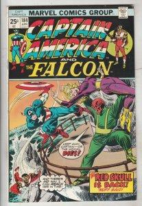 Captain America #184 (Apr-75) VF/NM High-Grade Captain America