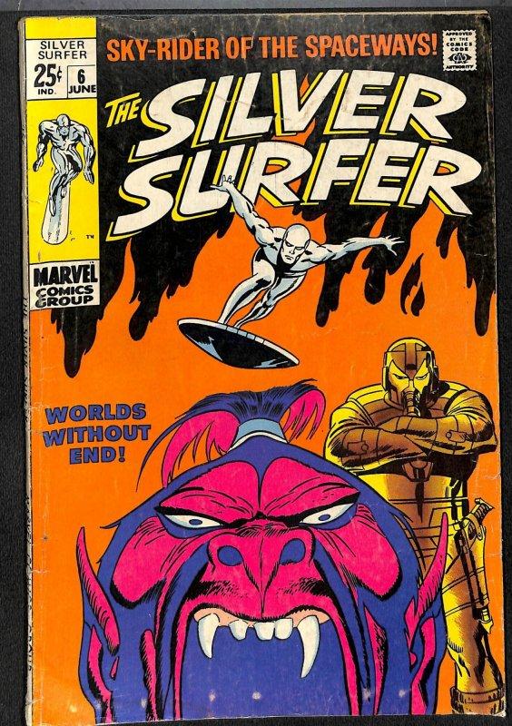 Silver Surfer #6 VG 4.0