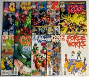 Force Works Comic Book Lot of (10) Marvel Comics CL90/01
