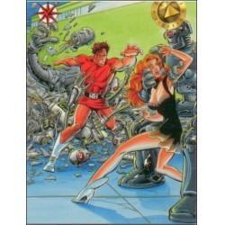 1993 Valiant Era MAGNUS ROBOT FIGHTER #1 - Card #2