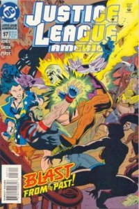 Justice League (1987 series) #97, NM + (Stock photo)