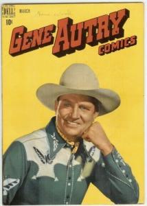 GENE AUTRY (1943-1959 FAWCETT/DELL) 25 VG PHOTOCOVER COMICS BOOK
