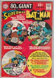 Eighty Page Giant #15 (Oct-65) VG/FN Mid-Grade Superman, Batman, Robin