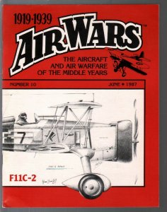 Air Wars #10 6/1987-Aircraft & air warfare of the middle years 1919-39-Curtiss H
