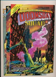 Fantagraphic Books Lot of 3-DOOMSDAY SQUAD #1-2, #5 VERY FINE(PF835)