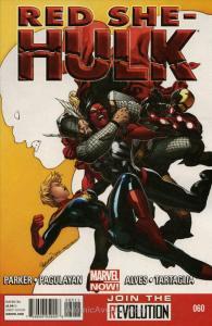 Red She-Hulk #60 VF; Marvel | save on shipping - details inside