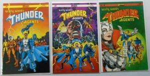 Wally Wood's Thunder Agents, Set:#1,2,4, NM (1985)