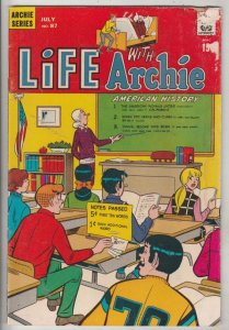 Life with Archie #87 (Jul-69) GD Affordable-Grade Archie, Jughead, Betty, Ver...