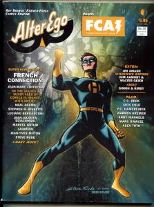 Alter Ego #30 2003- Neal Adams- Alex Ross JLA- Steve Rude