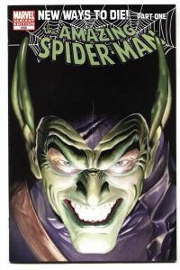 AMAZING SPIDER-MAN #568-VARIANT-Green Goblin-comic book