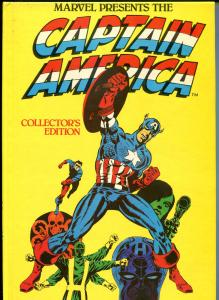 CAPTAIN AMERICA HC, Marvel Presents, Collectors Ed, GN, TPB, VF, 1981, 1st