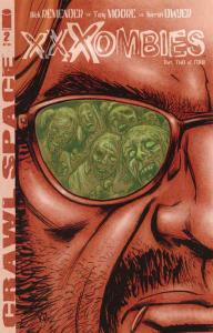 Crawl Space: XXXombies #2 (2nd) VF/NM; Image   save on shipping - details inside