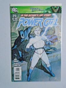 Power Girl #25 - Second 2nd Series - Batman appearance - see pics - 6.0 - 2011