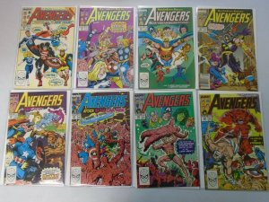 Avengers comic lot 45 different from #300-350 8.0 VF (1989-92 1st Series)