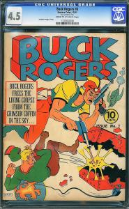 Buck Rogers #3 (Eastern Color, 1941)  CGC 4.5 VG+