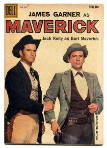 Maverick-Four Color Comics #945 1958-Dell-James Garner-Jack Kelly-TV series-VF