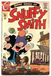 Barney Google and Snuffy Smith #1 1970- Charlton VG+
