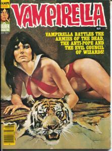 Vampirella #98 1981-horror-Army Of The Dead-VF