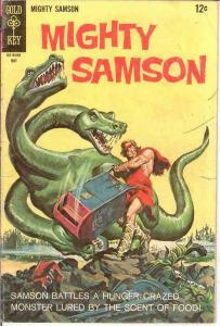 MIGHTY SAMSON 14 GOOD   May 1968 COMICS BOOK