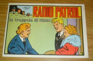 Radio Patrol (Italian Reprint) #52 FN; Comic Art   save on shipping - details in