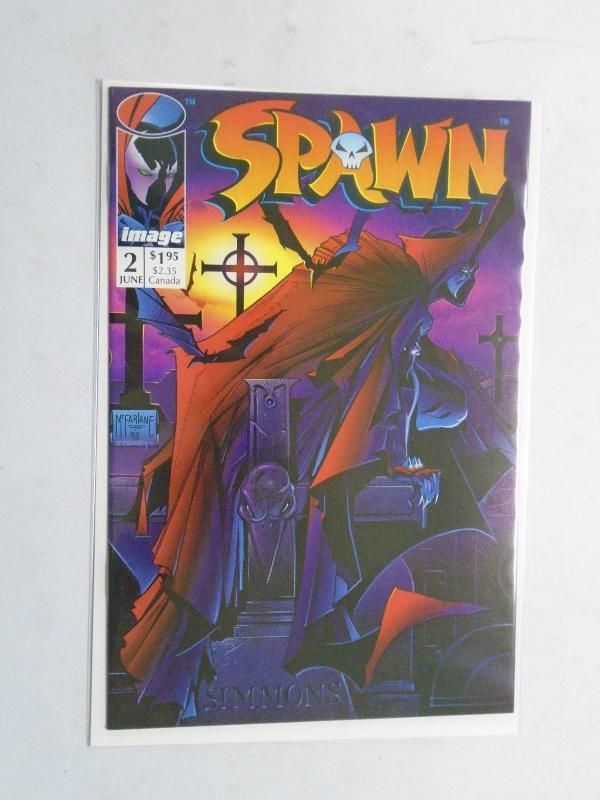 Spawn #2 Direct Edition, 8.0/VF (1992)