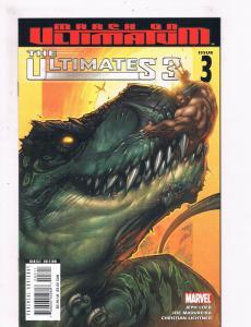 The Ultimates 3 # 3 VF Marvel Comic Books Avengers Thor Captain America WOW! SW5