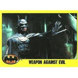 1989 Batman The Movie Series 2 Topps WEAPON AGAINST EVIL #215