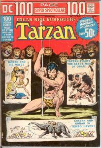 DC 100 PAGE SUPER SPECTACULAR DC-19 VG TARZAN BY MANNIN COMICS BOOK