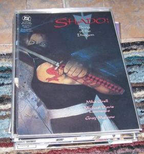 Shado: Song of the Dragon #  3 + 4   1992, DC GRAPHIC NOVEL YAKUZA MIKE GRELL