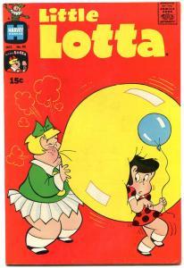 LITTLE LOTTA #92 1970-HARVEY COMICS LITTLKE DOT RICHIE FN