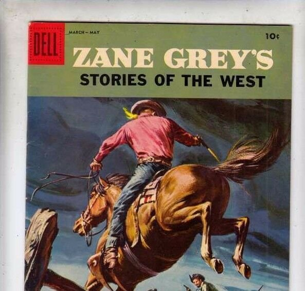 Zane Grey's Stories of the West 37 strict VF+ 8.5 Picturized Edition more listed