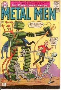 METAL MEN 9 FINE  September 1964 COMICS BOOK