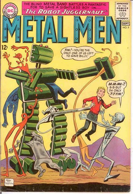 METAL MEN 9 FINE  September 1964 COMICS BOOK