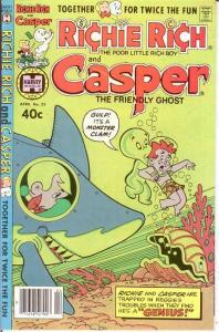 RICHIE RICH & CASPER (1974-1982) 33 VF-NM April 1980 COMICS BOOK