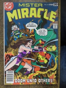 MISTER MIRACLE 25 VG-F 9/1978 Gerber/Golden COMICS BOOK