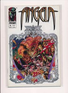 IMAGE COMICS ANGELA #1 1994 VERY FINE (SRU628)