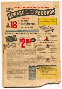Kent Blake of The Secret Service #9 1952-Atlas- bargain copy