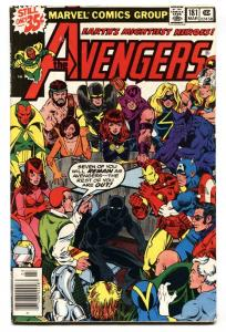 AVENGERS #181-1st scott lang-BLACK PANTHER-ANT-MAN-comic book