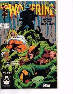 Marvel Comics Wolverine #46 Marc Silvestri NM Sabretooth Lady Deathstrike