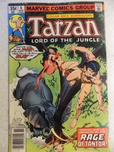 TARZAN LORD OF THE JUNGLE # 6 NO BOTTOM STAPLE FROM FACTORY