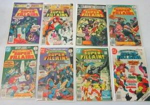 Super Villains from:#1-15 12 difference avg 5.0 range 4.0 -6.0 (1976)