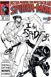 Spectacular Spider-Man (1976 series) #133, NM- (Stock photo)