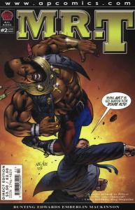 Mr. T #2 VF/NM; AP | save on shipping - details inside