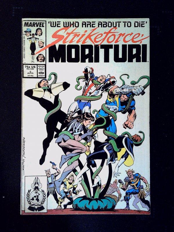 Strikeforce: Morituri #5 (1987)
