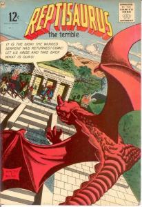 REPTISAURUS SP ED 1 VG Summer 1963 COMICS BOOK