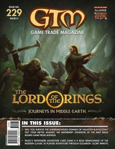 GTM Game Trade Magazine #229 Lord of the Rings (2019) New!
