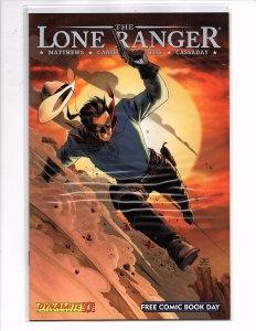 Dynamite Entertainment Battlestar Galactica Season Zero/The Lone Ranger #0
