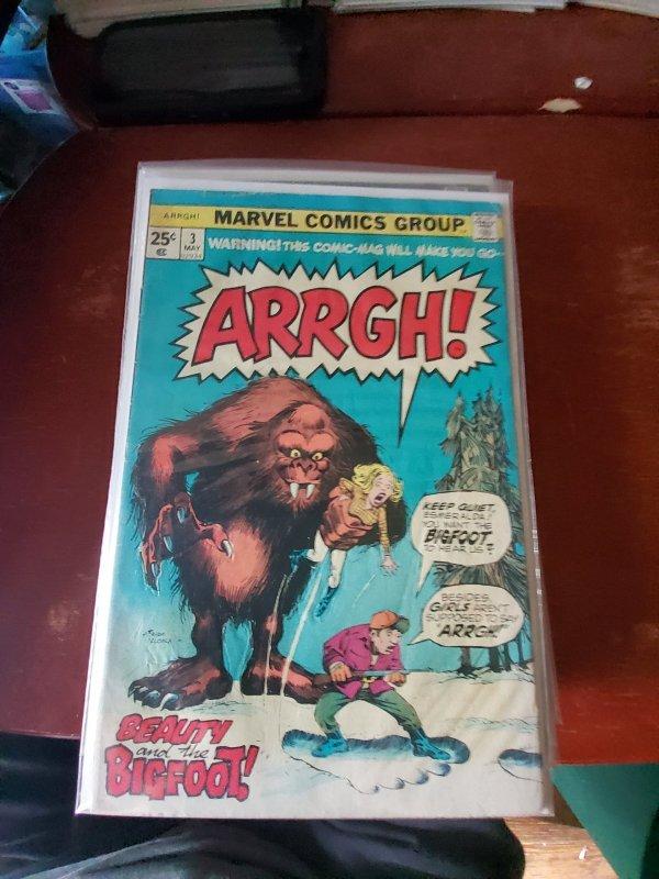 Arrgh! #3 (1975)