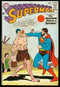 SUPERMAN #171 1964-DC COMICS-CAVE MAN COVER BOXING VG
