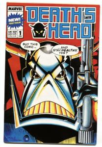 Death's Head #1-1988-Marvel UK-First issue-comic book